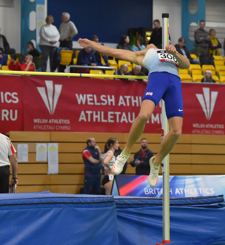 GGS_9383.jpg :: in action during the Welsh Senior Athletics Championships 2019 at N.I.A.C Cardiff United Kingdom on January 26 2019 Graham / GlennSports