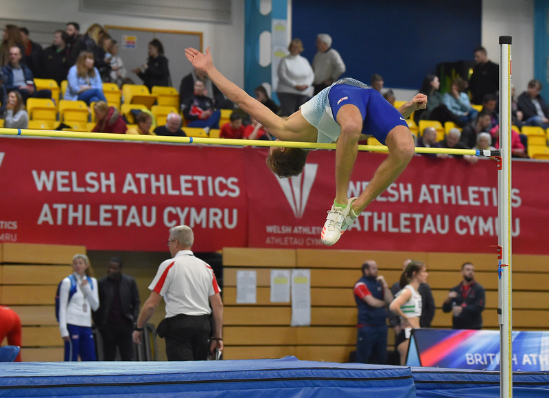 GGS_9385.jpg :: in action during the Welsh Senior Athletics Championships 2019 at N.I.A.C Cardiff United Kingdom on January 26 2019 Graham / GlennSports