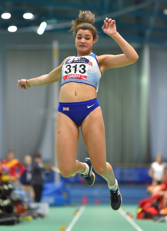 GGS_9398.jpg :: in action during the Welsh Senior Athletics Championships 2019 at N.I.A.C Cardiff United Kingdom on January 26 2019 Graham / GlennSports