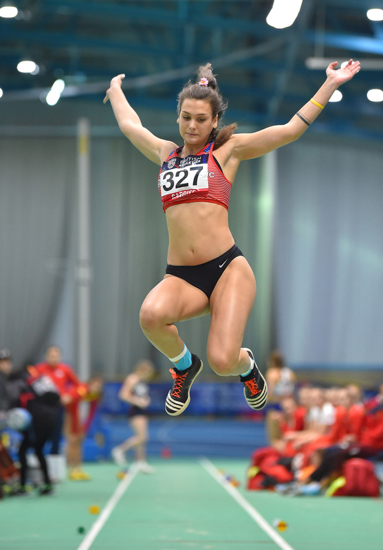 GGS_9399.jpg :: in action during the Welsh Senior Athletics Championships 2019 at N.I.A.C Cardiff United Kingdom on January 26 2019 Graham / GlennSports