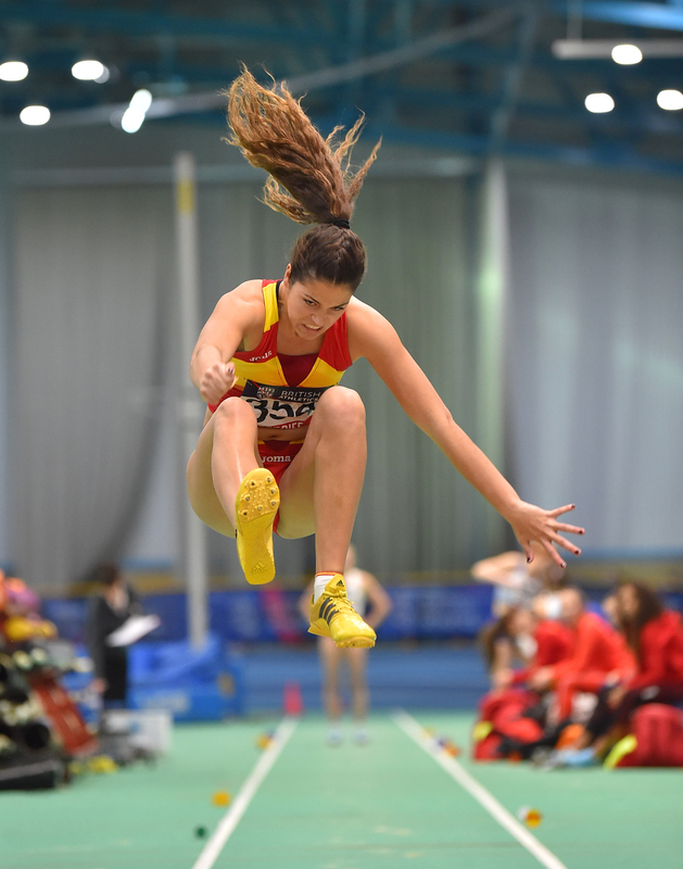 GGS_9402.jpg :: in action during the Welsh Senior Athletics Championships 2019 at N.I.A.C Cardiff United Kingdom on January 26 2019 Graham / GlennSports