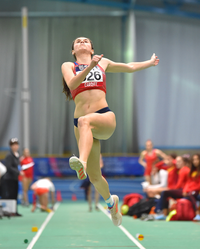 GGS_9405.jpg :: in action during the Welsh Senior Athletics Championships 2019 at N.I.A.C Cardiff United Kingdom on January 26 2019 Graham / GlennSports