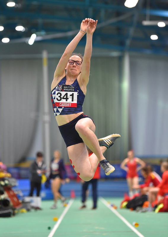 GGS_9406.jpg :: in action during the Welsh Senior Athletics Championships 2019 at N.I.A.C Cardiff United Kingdom on January 26 2019 Graham / GlennSports
