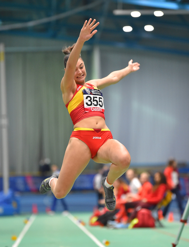GGS_9407.jpg :: in action during the Welsh Senior Athletics Championships 2019 at N.I.A.C Cardiff United Kingdom on January 26 2019 Graham / GlennSports