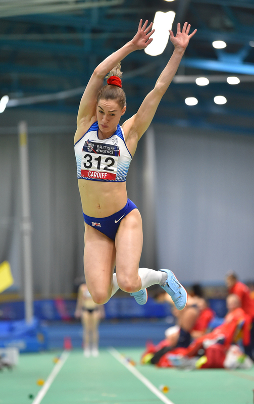 GGS_9409.jpg :: in action during the Welsh Senior Athletics Championships 2019 at N.I.A.C Cardiff United Kingdom on January 26 2019 Graham / GlennSports