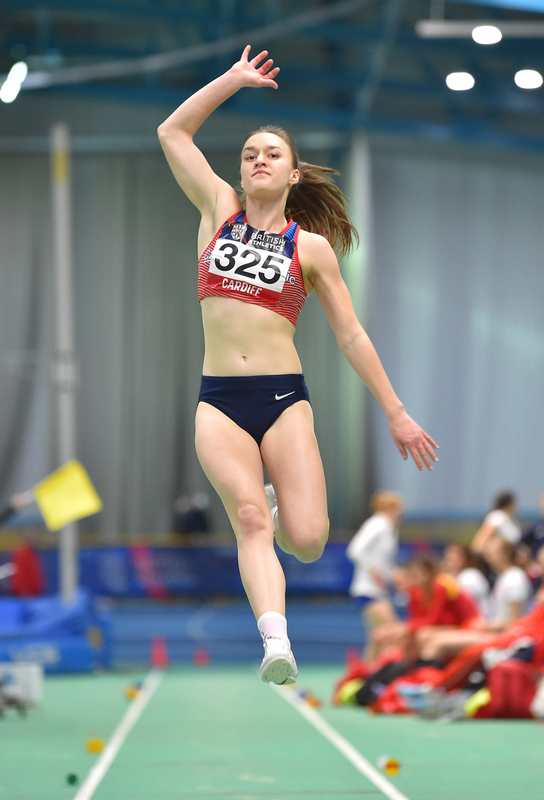 GGS_9410.jpg :: in action during the Welsh Senior Athletics Championships 2019 at N.I.A.C Cardiff United Kingdom on January 26 2019 Graham / GlennSports