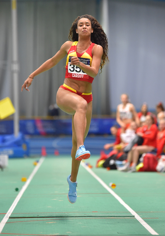 GGS_9418.jpg :: in action during the Welsh Senior Athletics Championships 2019 at N.I.A.C Cardiff United Kingdom on January 26 2019 Graham / GlennSports