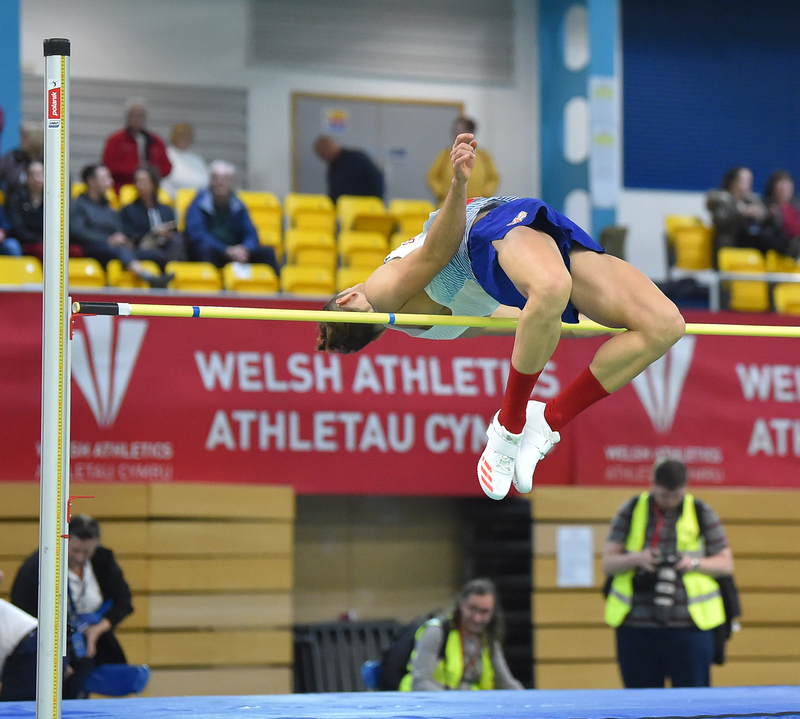 GGS_9428.jpg :: in action during the Welsh Senior Athletics Championships 2019 at N.I.A.C Cardiff United Kingdom on January 26 2019 Graham / GlennSports