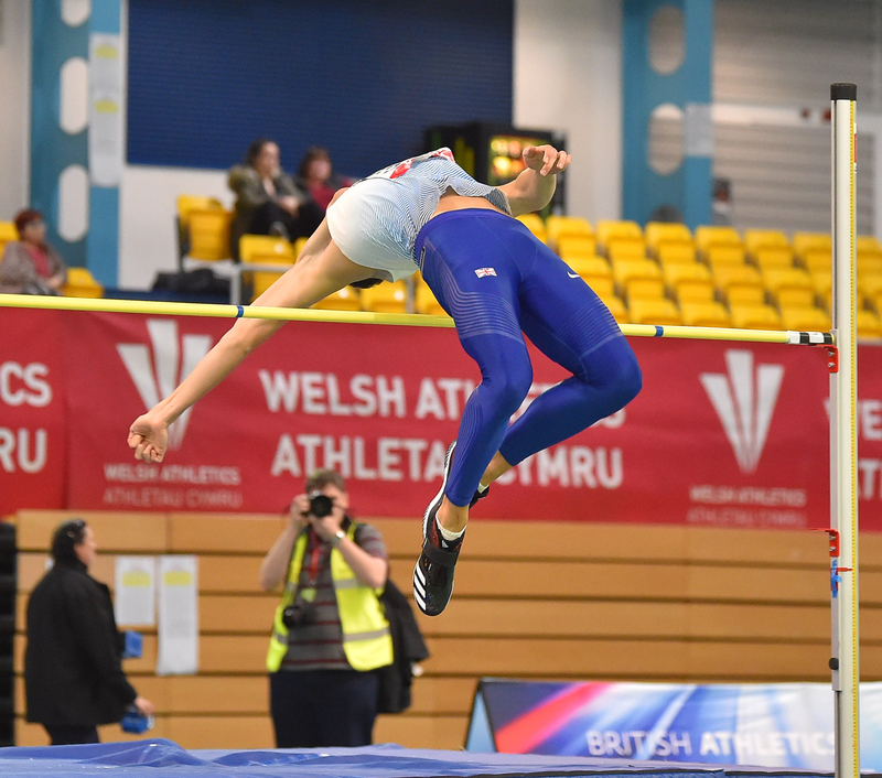 GGS_9447.jpg :: in action during the Welsh Senior Athletics Championships 2019 at N.I.A.C Cardiff United Kingdom on January 26 2019 Graham / GlennSports