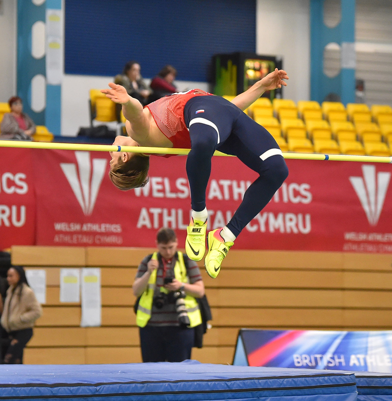 GGS_9449.jpg :: in action during the Welsh Senior Athletics Championships 2019 at N.I.A.C Cardiff United Kingdom on January 26 2019 Graham / GlennSports