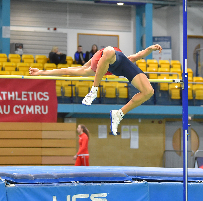 GGS_9462.jpg :: in action during the Welsh Senior Athletics Championships 2019 at N.I.A.C Cardiff United Kingdom on January 26 2019 Graham / GlennSports