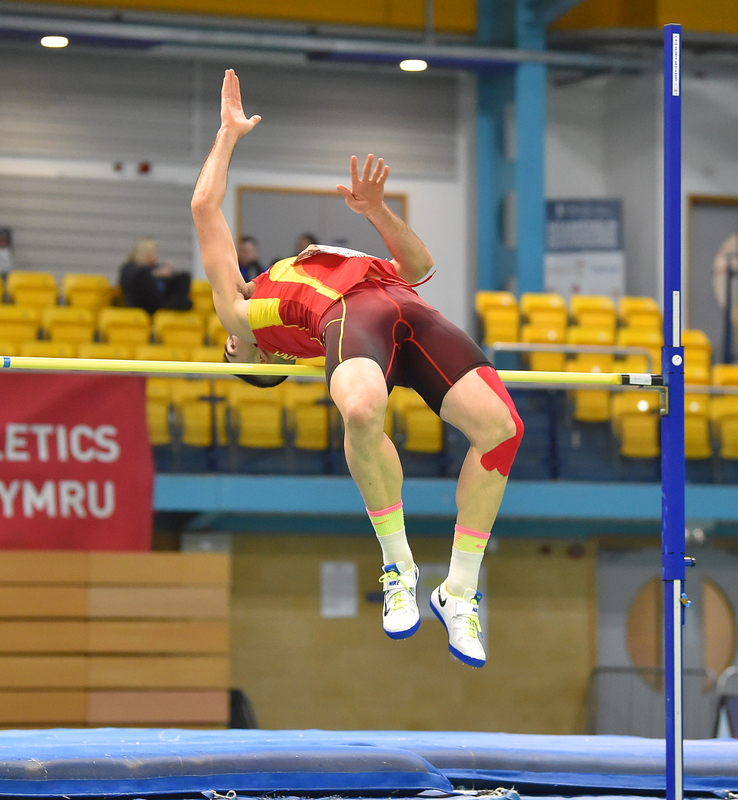 GGS_9465.jpg :: in action during the Welsh Senior Athletics Championships 2019 at N.I.A.C Cardiff United Kingdom on January 26 2019 Graham / GlennSports