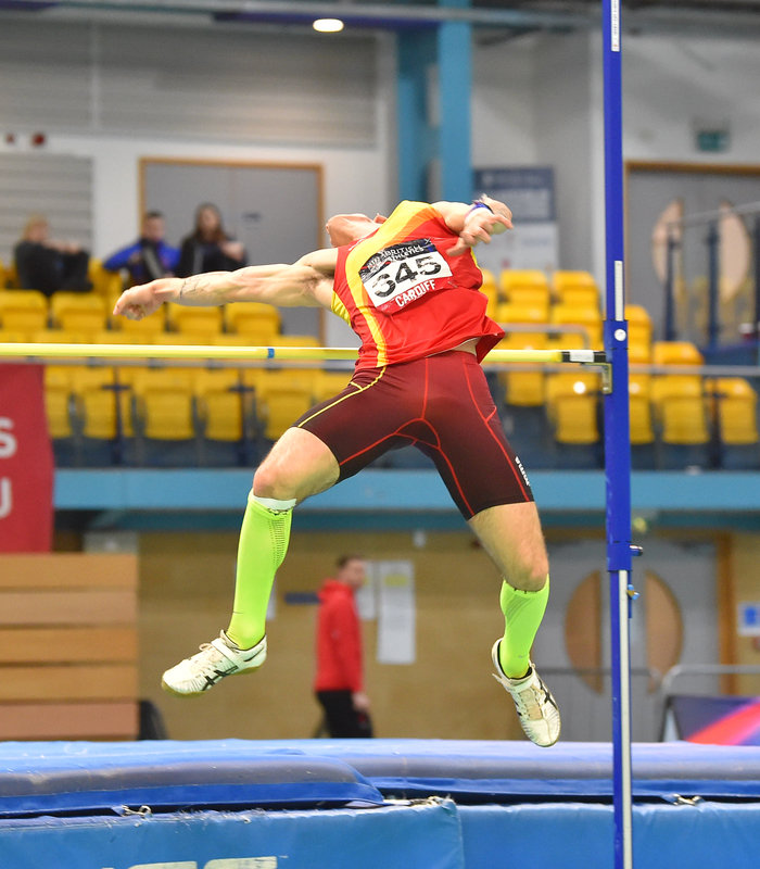 GGS_9467.jpg :: in action during the Welsh Senior Athletics Championships 2019 at N.I.A.C Cardiff United Kingdom on January 26 2019 Graham / GlennSports