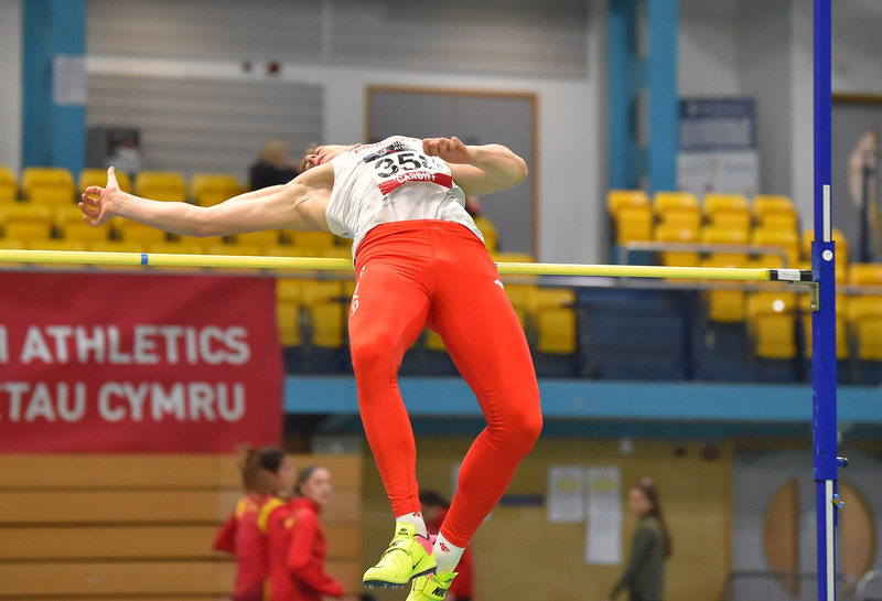GGS_9469.jpg :: in action during the Welsh Senior Athletics Championships 2019 at N.I.A.C Cardiff United Kingdom on January 26 2019 Graham / GlennSports