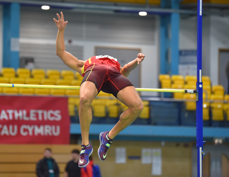 GGS_9485.jpg :: in action during the Welsh Senior Athletics Championships 2019 at N.I.A.C Cardiff United Kingdom on January 26 2019 Graham / GlennSports