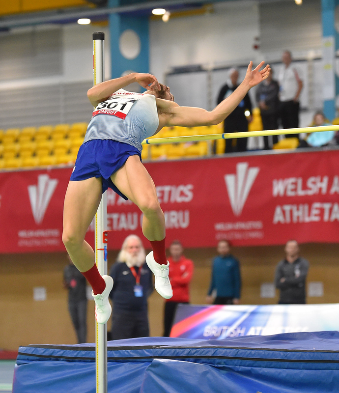 GGS_9497.jpg :: in action during the Welsh Senior Athletics Championships 2019 at N.I.A.C Cardiff United Kingdom on January 26 2019 Graham / GlennSports