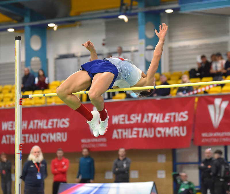 GGS_9499.jpg :: in action during the Welsh Senior Athletics Championships 2019 at N.I.A.C Cardiff United Kingdom on January 26 2019 Graham / GlennSports