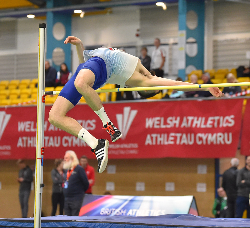 GGS_9505.jpg :: in action during the Welsh Senior Athletics Championships 2019 at N.I.A.C Cardiff United Kingdom on January 26 2019 Graham / GlennSports