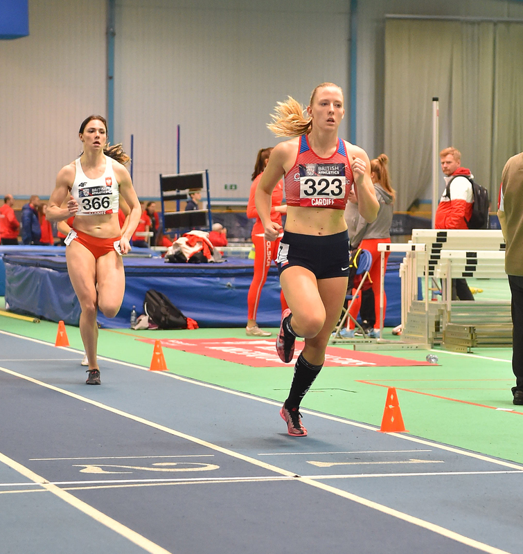 GGS_9915.jpg :: in action during the Welsh Senior Athletics Championships 2019 at N.I.A.C Cardiff United Kingdom on January 27 2019 Graham / GlennSports