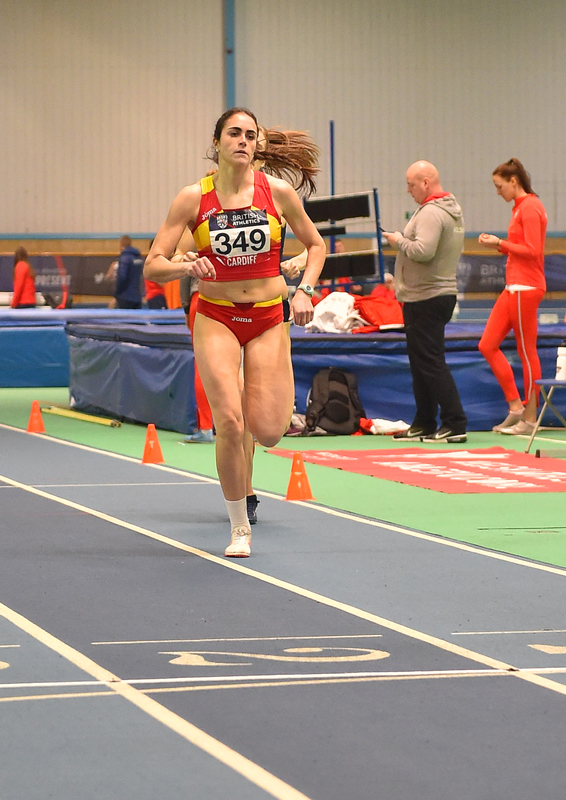 GGS_9925(1).jpg :: in action during the Welsh Senior Athletics Championships 2019 at N.I.A.C Cardiff United Kingdom on January 27 2019 Graham / GlennSports