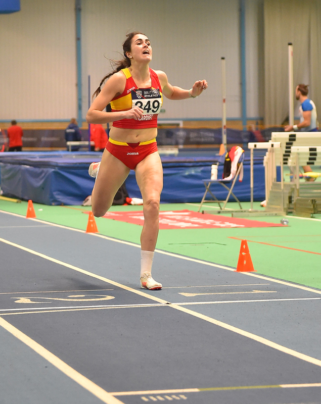 GGS_9930(1).jpg :: in action during the Welsh Senior Athletics Championships 2019 at N.I.A.C Cardiff United Kingdom on January 27 2019 Graham / GlennSports