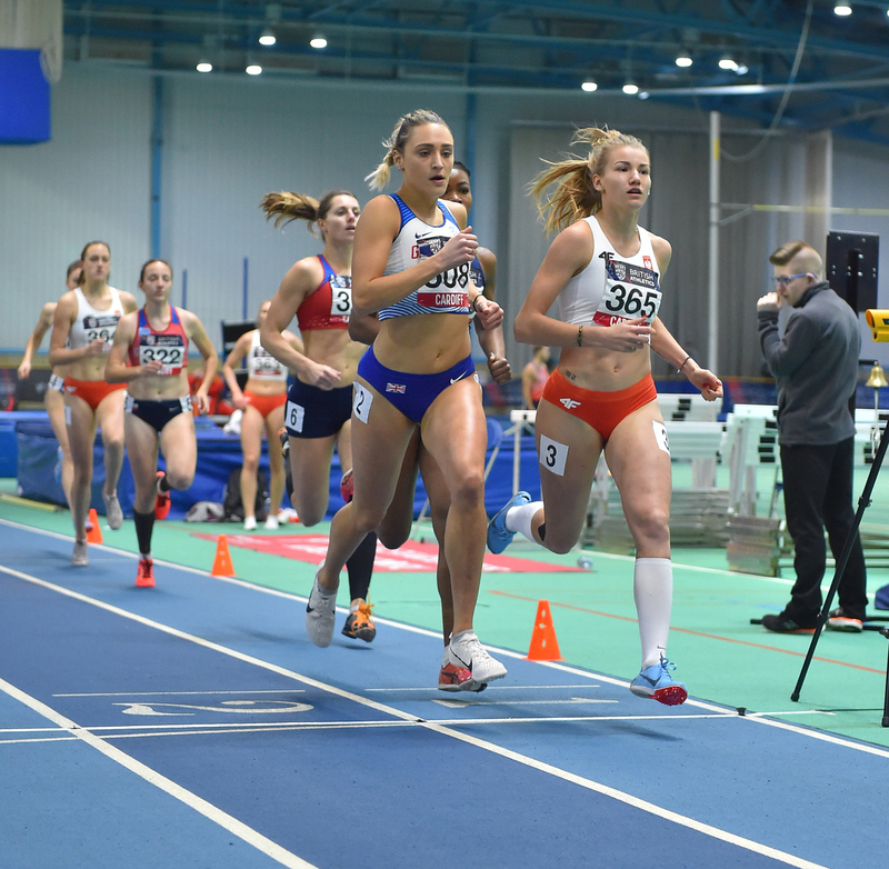 GGS_9937.jpg :: in action during the Welsh Senior Athletics Championships 2019 at N.I.A.C Cardiff United Kingdom on January 27 2019 Graham / GlennSports