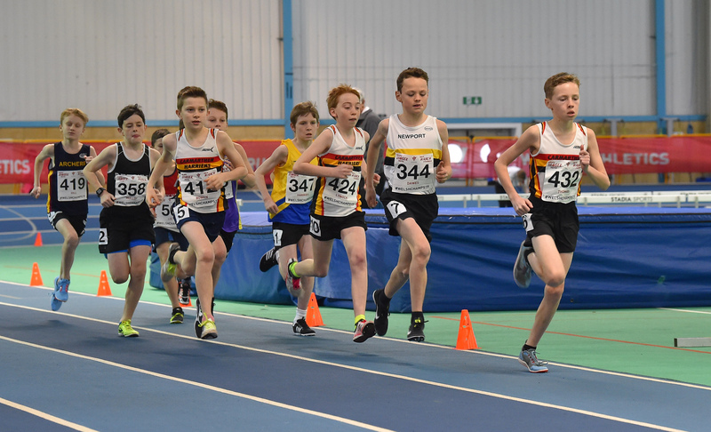 GGS_9964.jpg :: in action during the Welsh Junior Athletics Championships 2019 at N.I.A.C Cardiff United Kingdom on February 02 2019 Graham / GlennSports