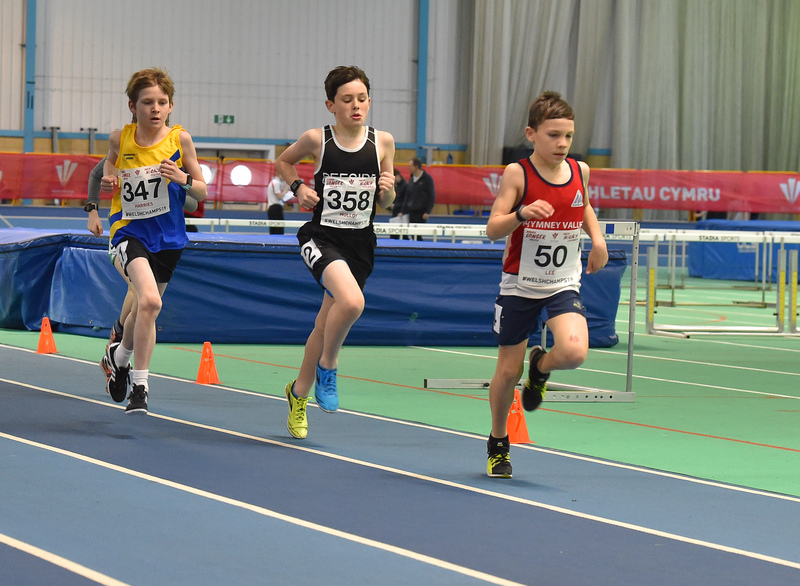 GGS_9966.jpg :: in action during the Welsh Junior Athletics Championships 2019 at N.I.A.C Cardiff United Kingdom on February 02 2019 Graham / GlennSports