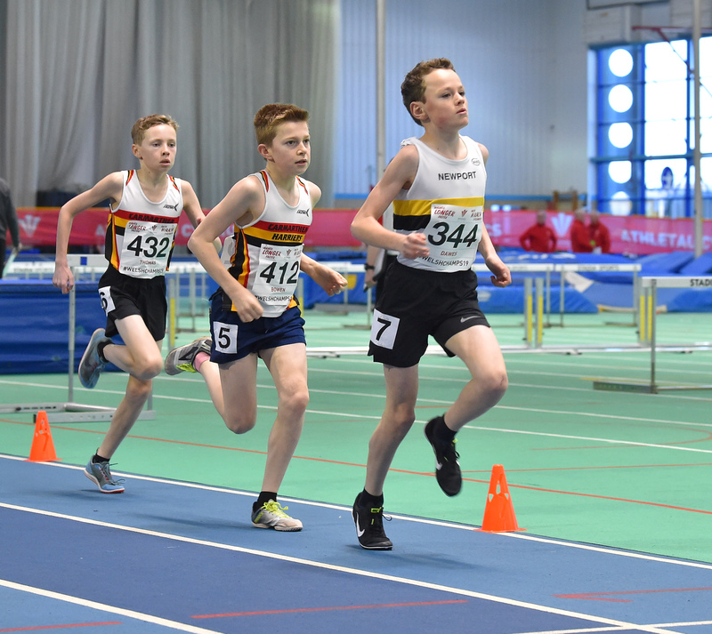 GGS_9967.jpg :: in action during the Welsh Junior Athletics Championships 2019 at N.I.A.C Cardiff United Kingdom on February 02 2019 Graham / GlennSports