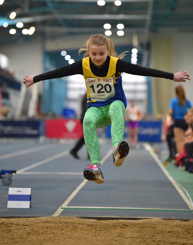 GGS_9970.jpg :: in action during the Welsh Junior Athletics Championships 2019 at N.I.A.C Cardiff United Kingdom on February 02 2019 Graham / GlennSports