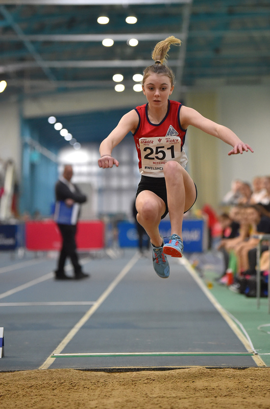 GGS_9981.jpg :: in action during the Welsh Junior Athletics Championships 2019 at N.I.A.C Cardiff United Kingdom on February 02 2019 Graham / GlennSports