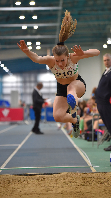 GGS_9983.jpg :: in action during the Welsh Junior Athletics Championships 2019 at N.I.A.C Cardiff United Kingdom on February 02 2019 Graham / GlennSports