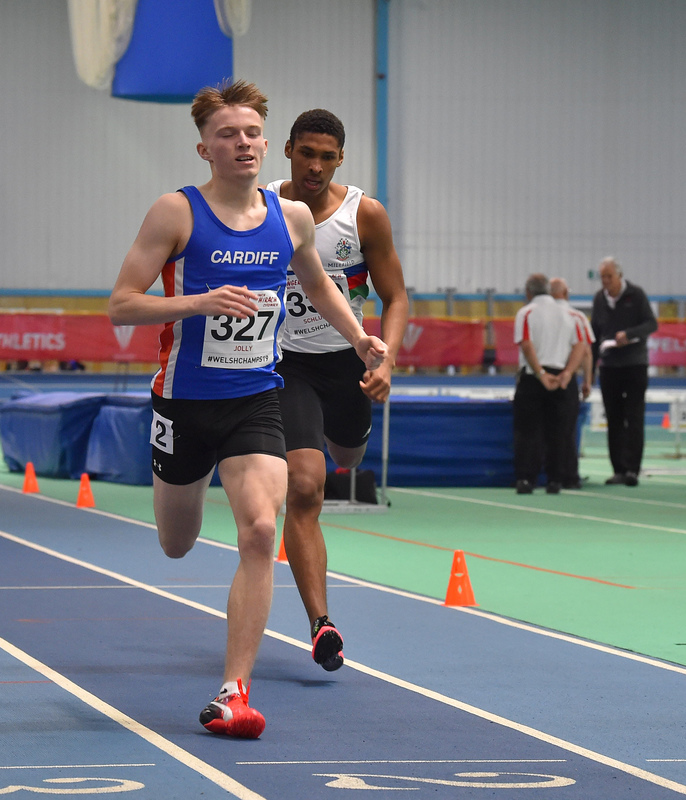 GGS_9987.jpg :: in action during the Welsh Junior Athletics Championships 2019 at N.I.A.C Cardiff United Kingdom on February 02 2019 Graham / GlennSports