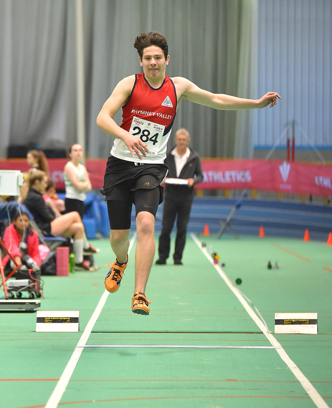 GGS_9989.jpg :: in action during the Welsh Junior Athletics Championships 2019 at N.I.A.C Cardiff United Kingdom on February 02 2019 Graham / GlennSports