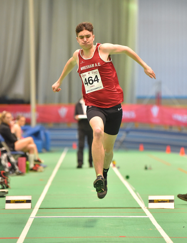 GGS_9990.jpg :: in action during the Welsh Junior Athletics Championships 2019 at N.I.A.C Cardiff United Kingdom on February 02 2019 Graham / GlennSports