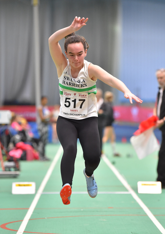 GGS_9991.jpg :: in action during the Welsh Junior Athletics Championships 2019 at N.I.A.C Cardiff United Kingdom on February 02 2019 Graham / GlennSports