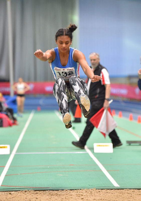 GGS_9992.jpg :: in action during the Welsh Junior Athletics Championships 2019 at N.I.A.C Cardiff United Kingdom on February 02 2019 Graham / GlennSports