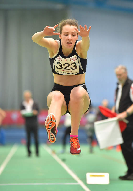 GGS_9994.jpg :: in action during the Welsh Junior Athletics Championships 2019 at N.I.A.C Cardiff United Kingdom on February 02 2019 Graham / GlennSports