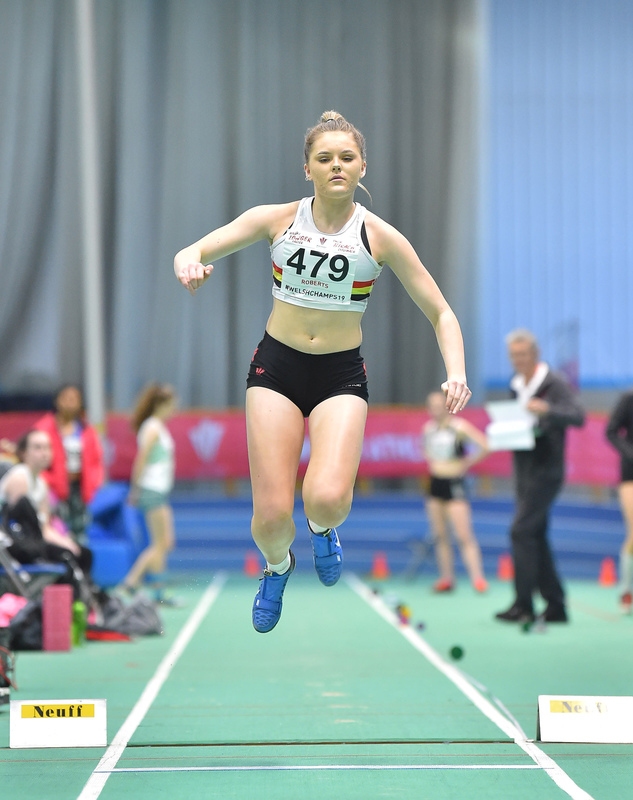 GGS_9995.jpg :: in action during the Welsh Junior Athletics Championships 2019 at N.I.A.C Cardiff United Kingdom on February 02 2019 Graham / GlennSports