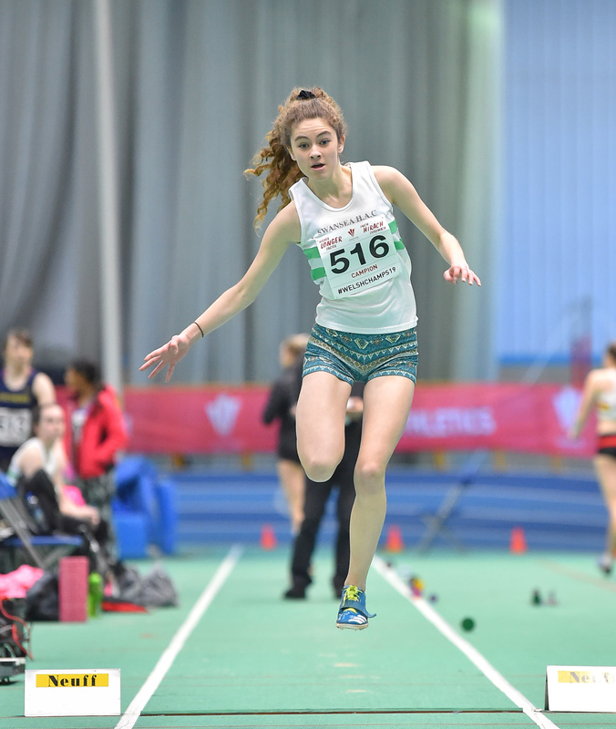 GGS_9996.jpg :: in action during the Welsh Junior Athletics Championships 2019 at N.I.A.C Cardiff United Kingdom on February 02 2019 Graham / GlennSports