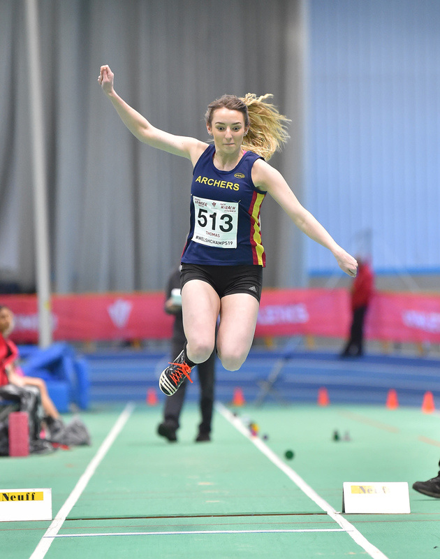GGS_9998.jpg :: in action during the Welsh Junior Athletics Championships 2019 at N.I.A.C Cardiff United Kingdom on February 02 2019 Graham / GlennSports