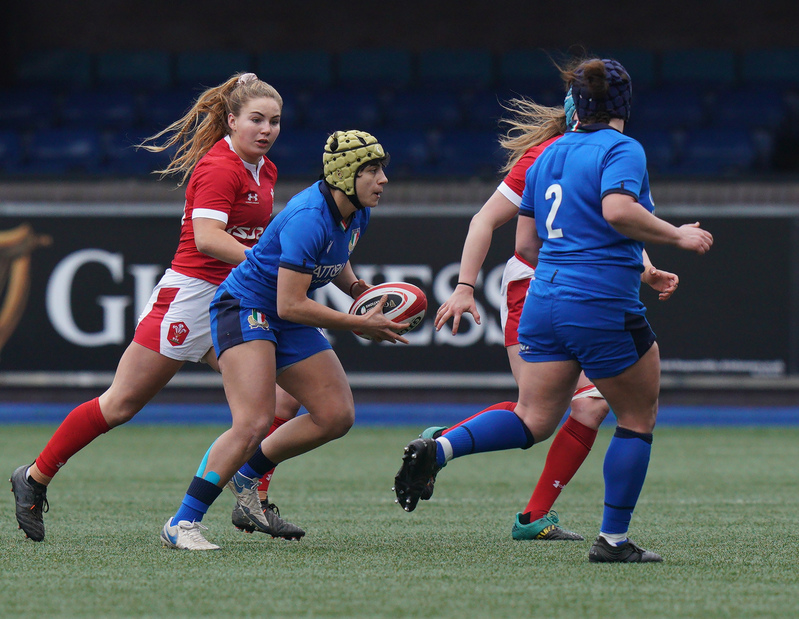 SA900881.jpg :: Beatrice Rigoni (Italy) in action during the 