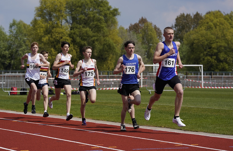 _A9A2055.jpg :: Newport, Wales, 1, May, 2021,Pictured in action,, During Welsh Athletics Invitational,Credit:, Graham Glendinning,/ Alamy Live News
