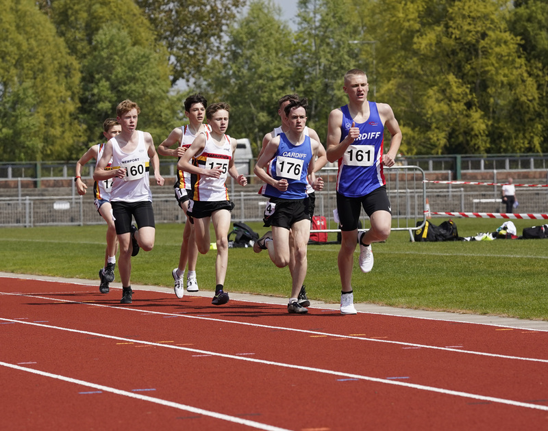 _A9A2056.jpg :: Newport, Wales, 1, May, 2021,Pictured in action,, During Welsh Athletics Invitational,Credit:, Graham Glendinning,/ Alamy Live News