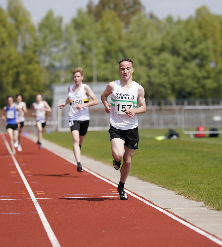 _A9A2068.jpg :: Newport, Wales, 1, May, 2021,Pictured in action,, During Welsh Athletics Invitational,Credit:, Graham Glendinning,/ Alamy Live News
