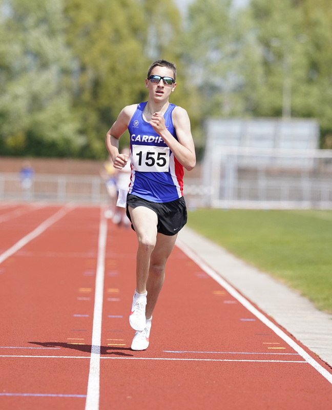 _A9A2117.jpg :: Newport, Wales, 1, May, 2021,Pictured in action,, During Welsh Athletics Invitational,Credit:, Graham Glendinning,/ Alamy Live News
