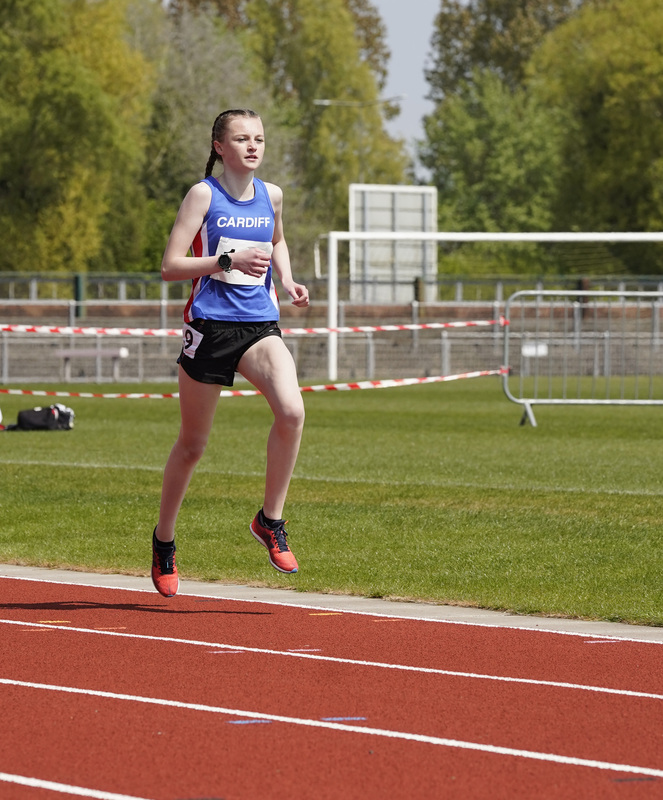 _A9A2181.jpg :: Newport, Wales, 1, May, 2021,Pictured in action,, During Welsh Athletics Invitational,Credit:, Graham Glendinning,/ Alamy Live News