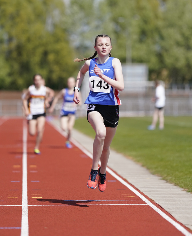 _A9A2222.jpg :: Newport, Wales, 1, May, 2021,Pictured in action,, During Welsh Athletics Invitational,Credit:, Graham Glendinning,/ Alamy Live News