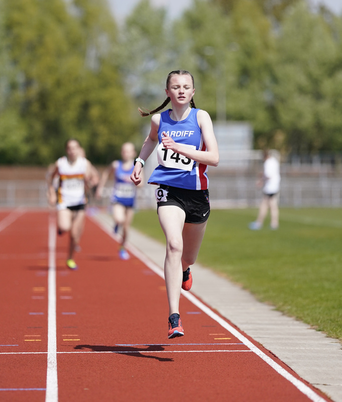 _A9A2223.jpg :: Newport, Wales, 1, May, 2021,Pictured in action,, During Welsh Athletics Invitational,Credit:, Graham Glendinning,/ Alamy Live News