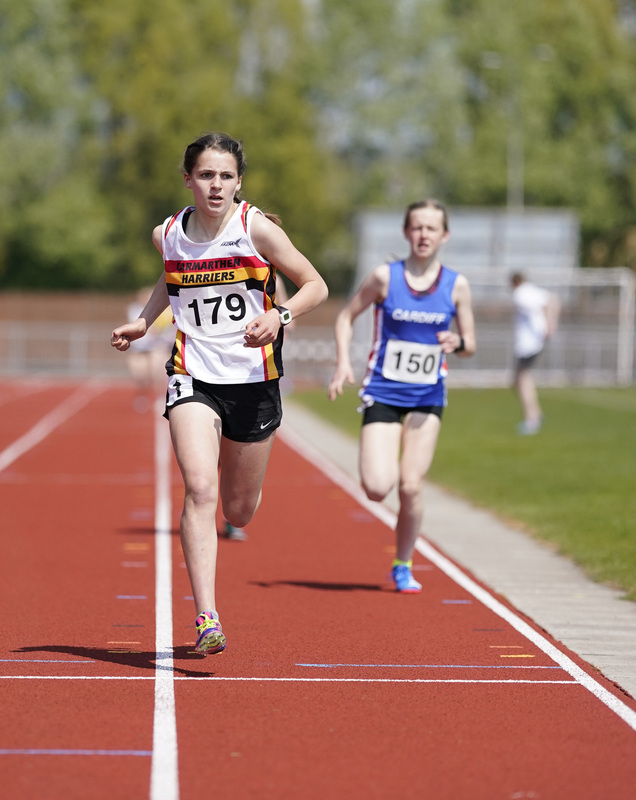 _A9A2228.jpg :: Newport, Wales, 1, May, 2021,Pictured in action,, During Welsh Athletics Invitational,Credit:, Graham Glendinning,/ Alamy Live News